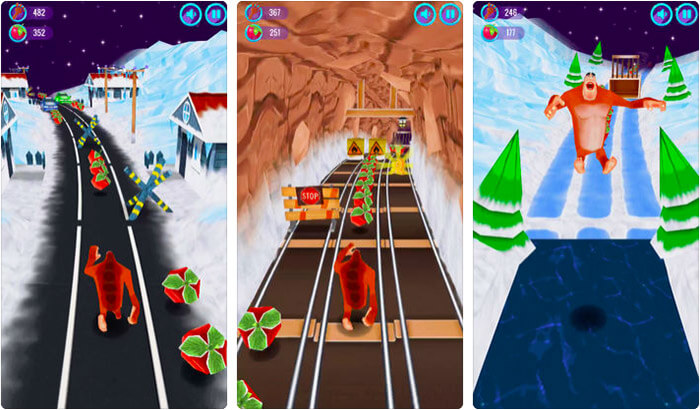 Running Game for iPhone and iPad