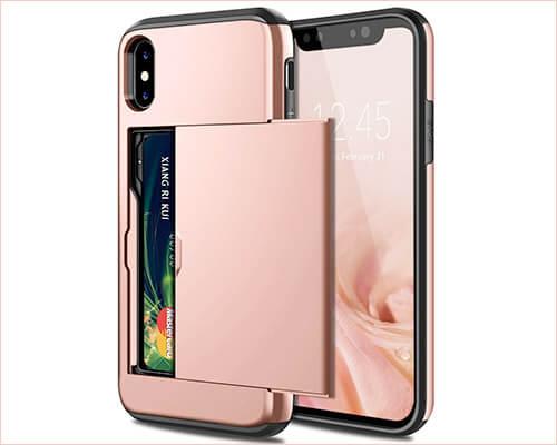 SAMONPOW iPhone X-Xs Wallet Case