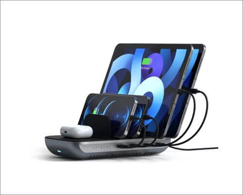 SATECHI Dock5 multi-device charging station accessory from CES