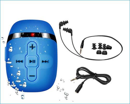 SEWOBYE Waterproof Earphones for Swimming