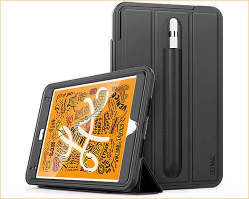 SEYMAC Heavy-duty Case for iPad Mini 5