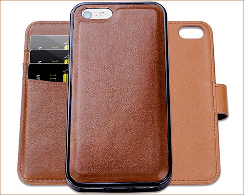 SHANSHUI iPhone SE, 5s, and iPhone 5 Wallet Case