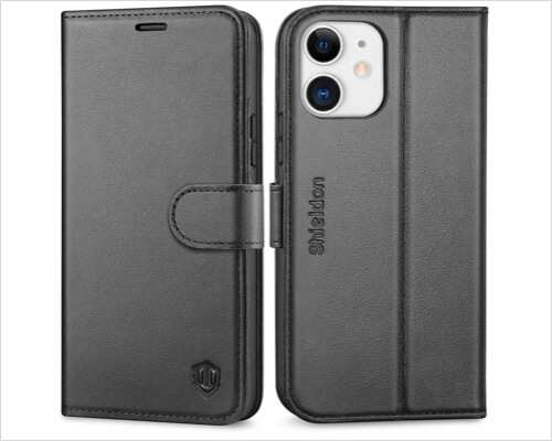 SHIELDON Folio Case for iPhone 12, 12 Pro, 12 Pro Max