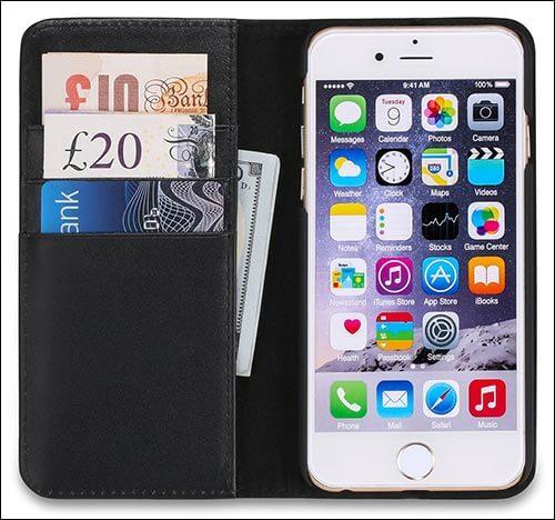 SHIELDON iPhone 6s Wallet Case