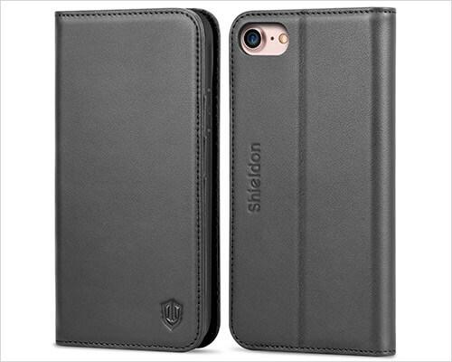 SHIELDON iPhone 8 Leather Case