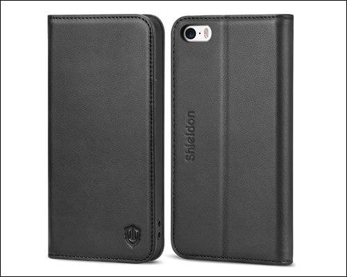 SHIELDON iPhone SE Wallet Case
