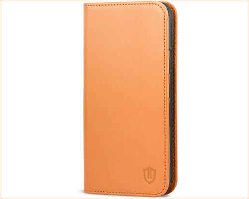 SHIELDON iPhone X Leather Case