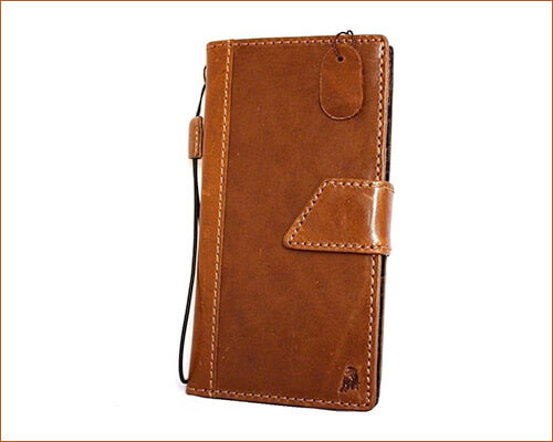 SHOP-LEATHER Handmade Leather Case for iPhone 6 Plus