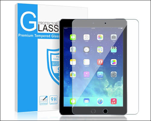 SMAPP 2018 iPad 9.7-inch Tempered Glass Screen Protector