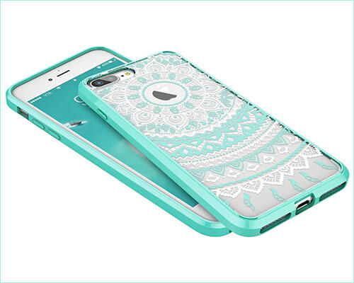 SMARTLEGEND iPhone 8 Plus Case for Female