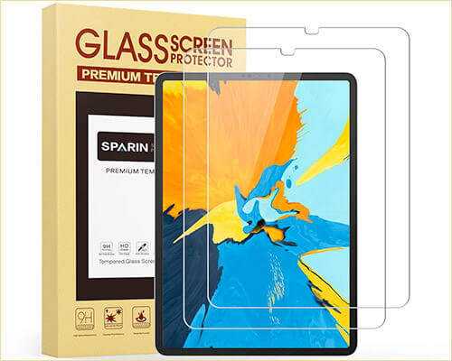 SPARIN iPad Pro 12.9-inch 2018 Tempered Glass Screen Protector