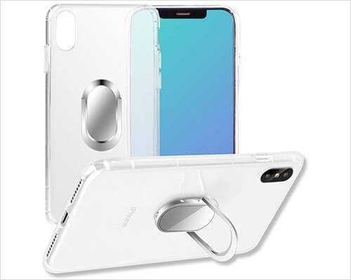 SPHLEAN Ring Case for iPhone Xs