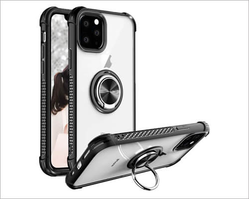 SQMCase iPhone 11 Pro Max Magnetic Case Compatible with Car Mount