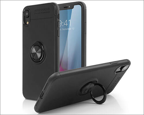 SQMCase iPhone Xs Max Ring Holder Case