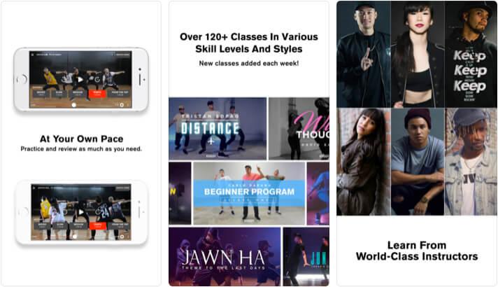 STEEZY Studio Learn To Dance iPhone and iPad App Screenshot