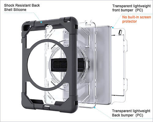 SUPFIVES iPad Mini 5 Rugged Case