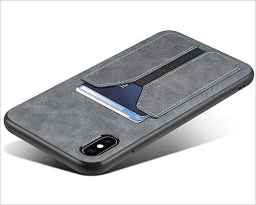 SUTENI iPhone X-Xs Wallet Case