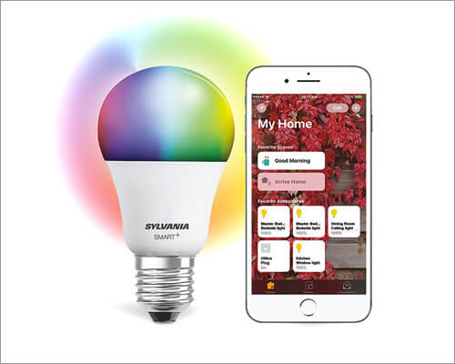 SYLVANIA A19 Smart LED Bulb Compatible with Apple HomeKit