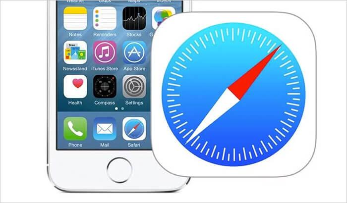 Safari iPhone and iPad App Screenshot