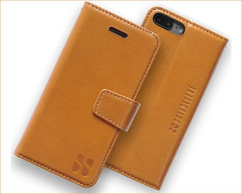 SafeSleeve iPhone 7 Plus Wallet Case