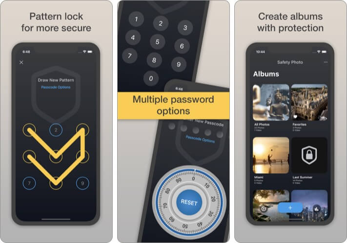 Safety Photo+Video Pro Security iPhone and iPad App Screenshot