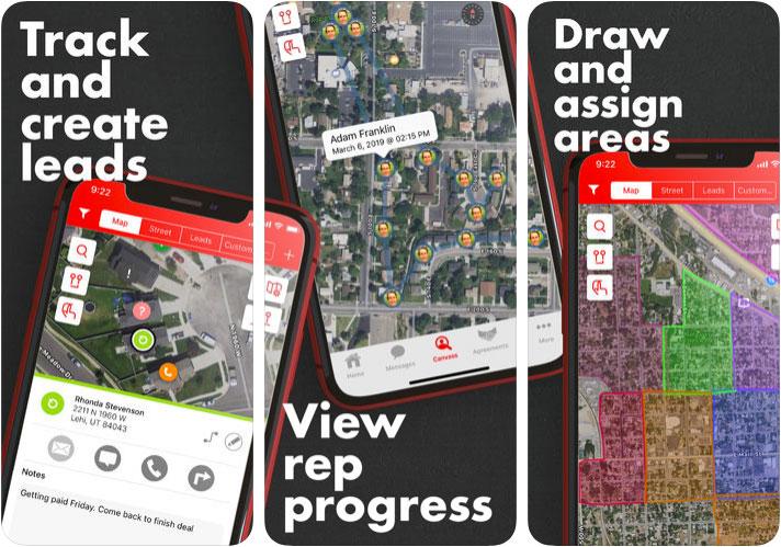 SalesRabbit iPhone and iPad App Screenshot