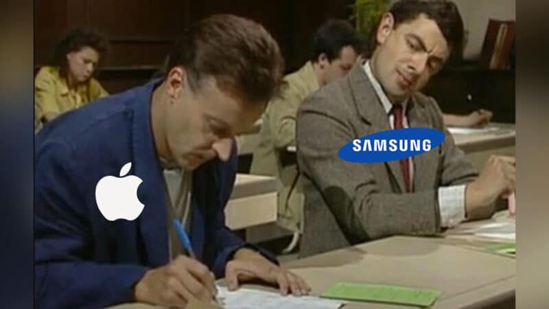 Samsug Copying Apple Product Design and Feature