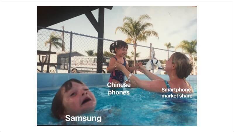 Samsung Loosing Market Share in India
