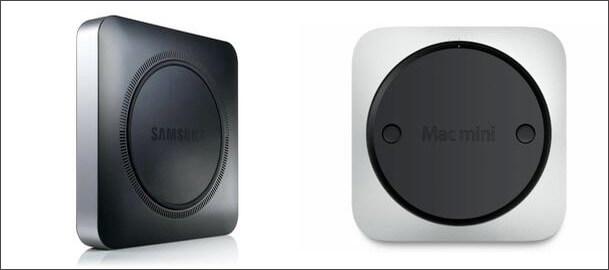 Samsung copied Design Of Mac Mini