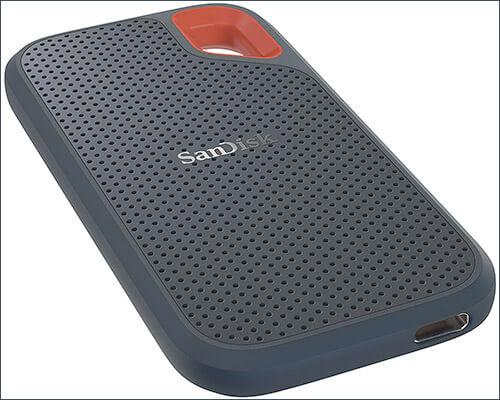 SanDisk 1TB Extreme Portable USB C Hard Drive