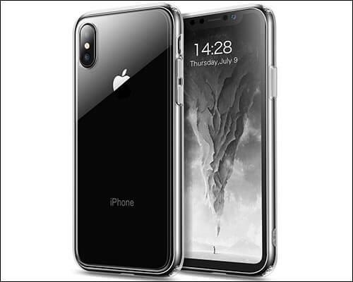 Sankmi-iPhone-X-Clear-Case