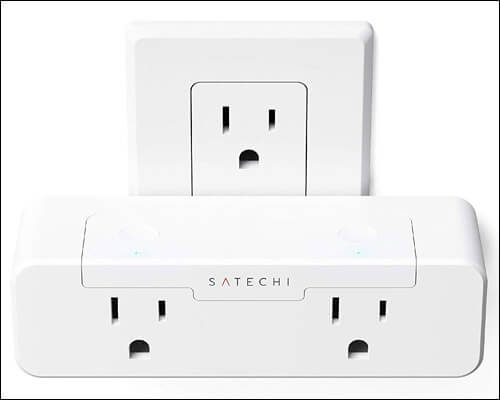 Satechi Homekit Compatible Smart Plug