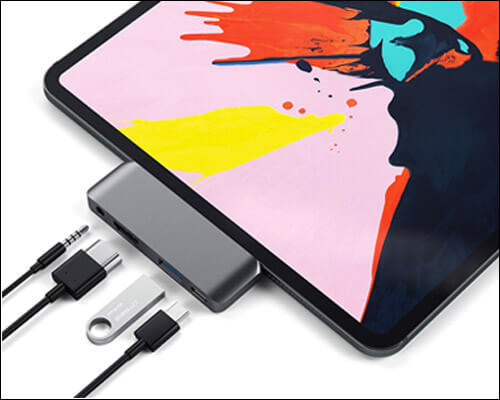 Satechi USB C Multiport Adapter for 2018 iPad Pro