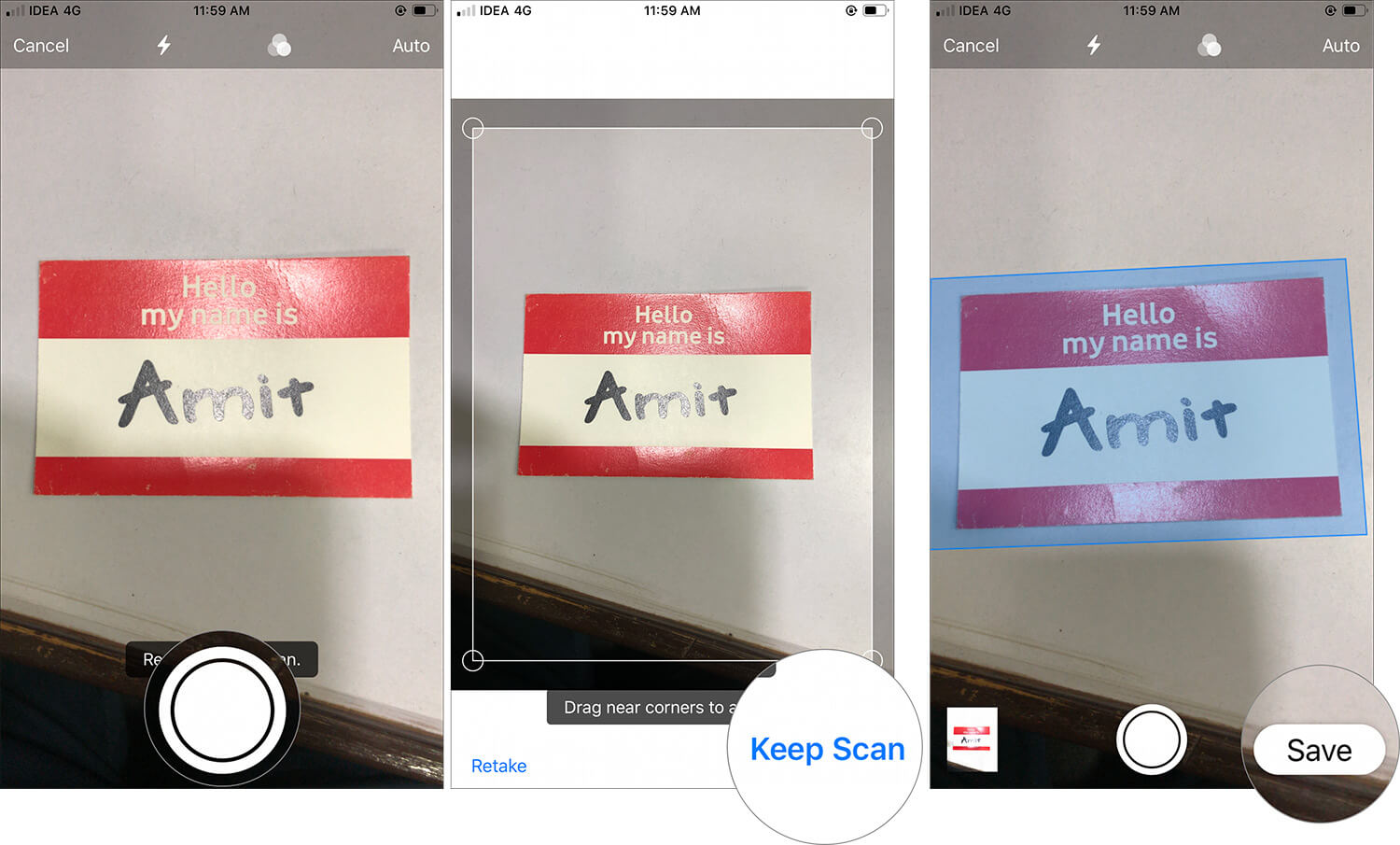 Scan a Document with iOS 13 Files App on iPhone