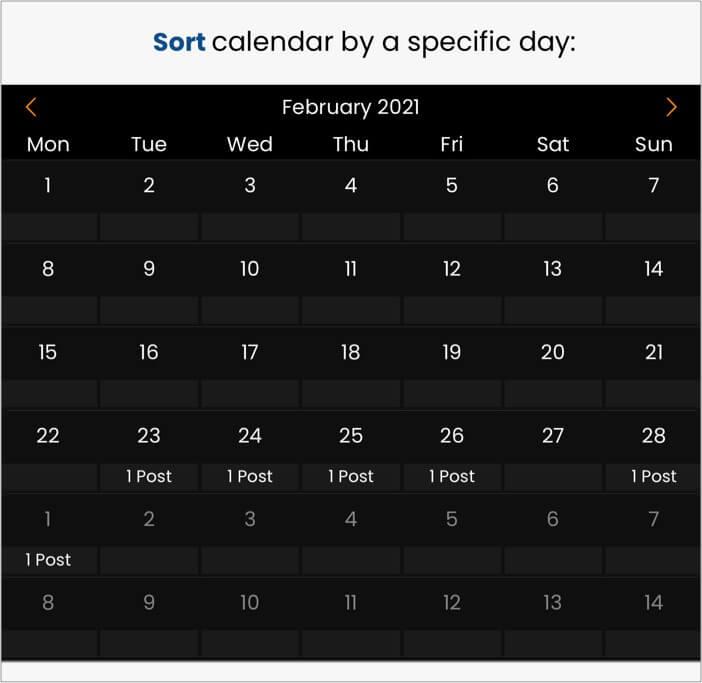 Schedule posts in AIMI iOS app