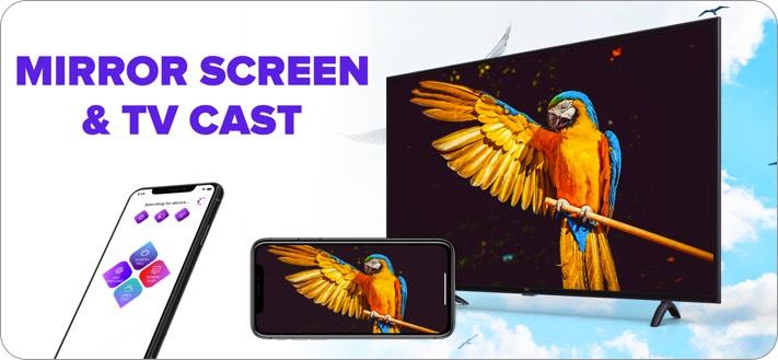 Screen Mirroring - TV Cast iPhone and iPad App Screenshot