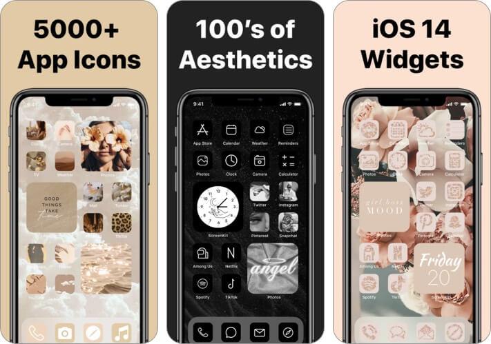 ScreenKit Aesthetic App Icons for iPhone Screenshot