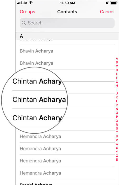 Search and Add a Person as Emergency SOS Contact in iOS Health App