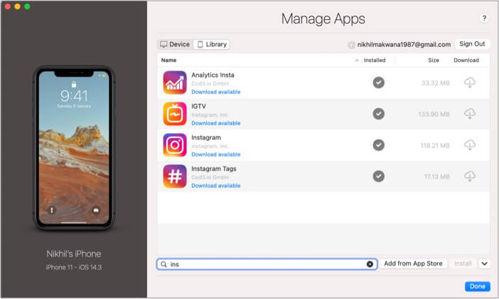Search the app and click on download button in Mac App Store