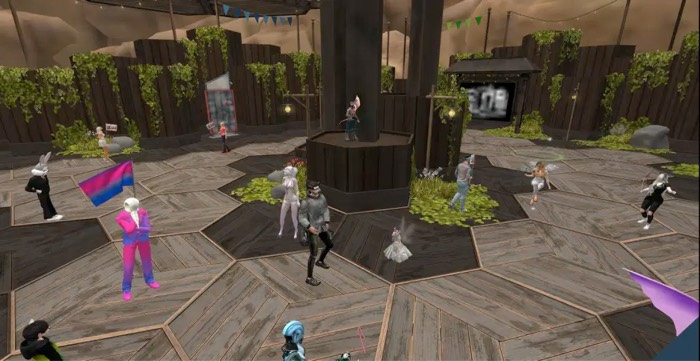 Second Life MMORPG for Mac