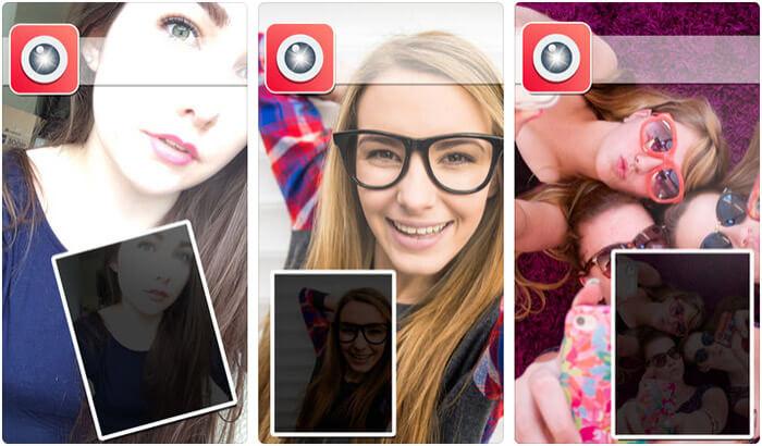 Selfie-Glow iPhone App Screenshot
