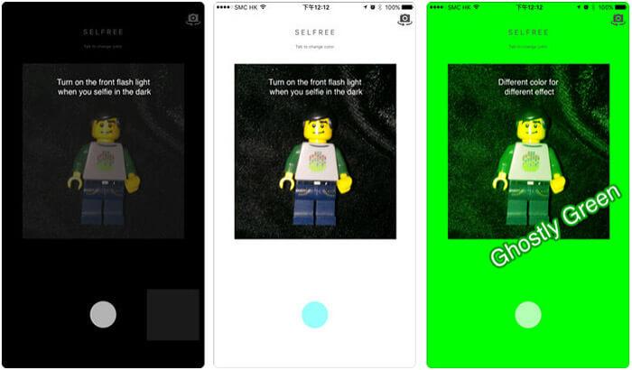 Selfree iPhone and iPad App Screenshot