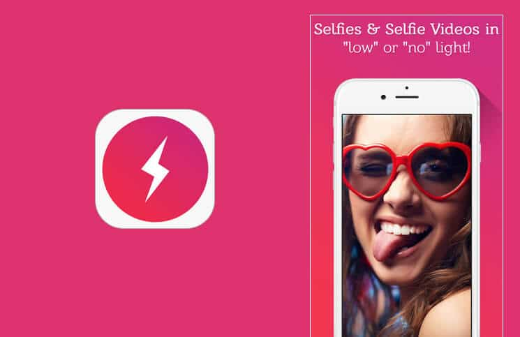 Selfshot Front Flash Camera App For iPhone and iPad