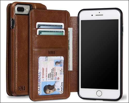 Sena Heritage iPhone 7 Plus Leather Case