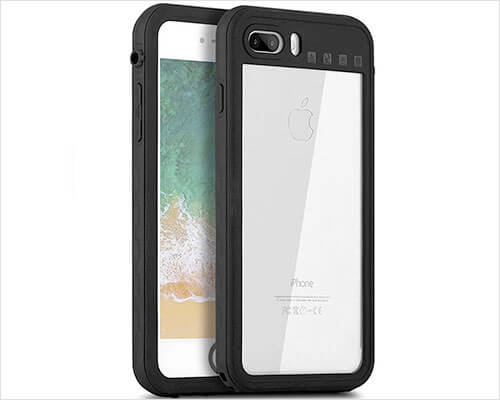 Senbor Waterproof Case for iPhone 8 Plus