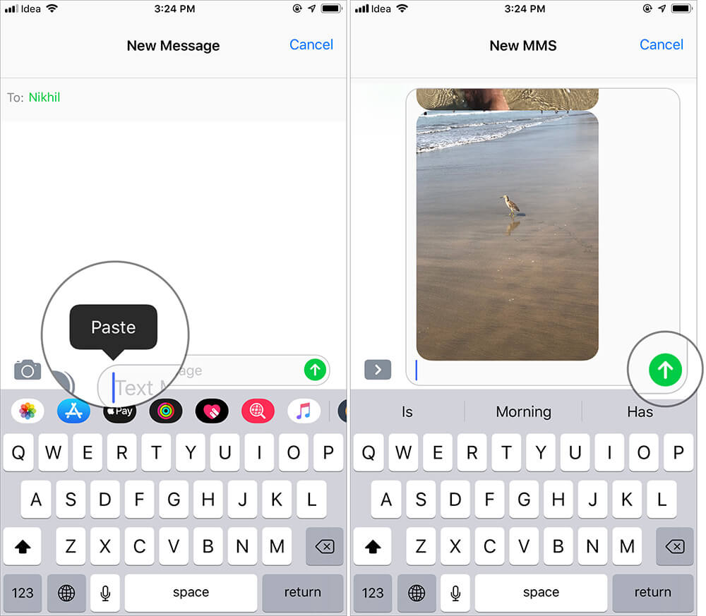 Send More than 20 Pictures Via iMessage on iPhone