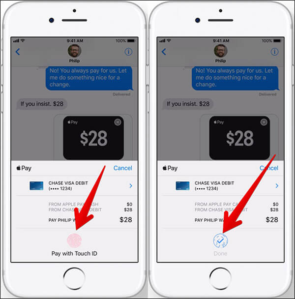 Send or Receive Money in iMessage on iPhone