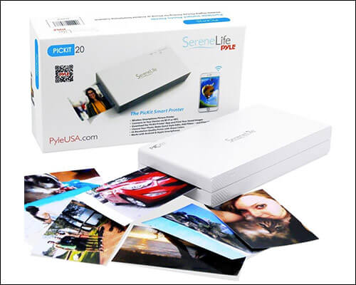 SereneLife Photo Printer for iPhone