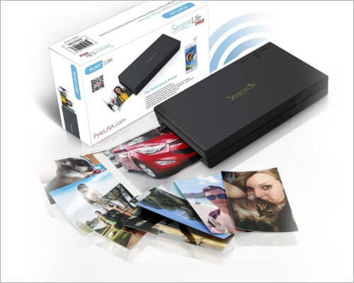SereneLife Portable Photo Printer for iPhone 11, 11 Pro and 11 Pro Max