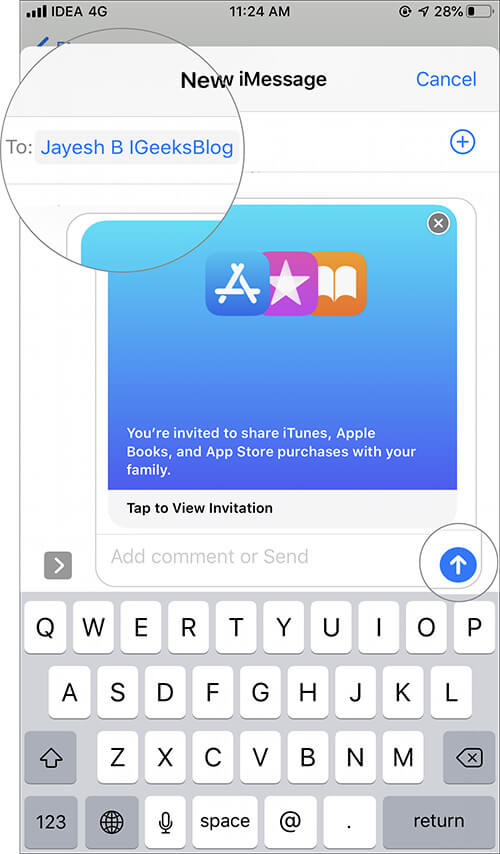 Set Up Family Sharing for Apple Arcade on iPhone